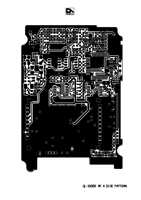 alinco dj x2000 vhf uhf fm radio instruction service manual rh consumer electronic filemanual com