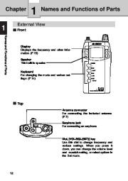 Alinco DJ-X3 T E VHF UHF FM Radio Instruction Owners Manual page 12