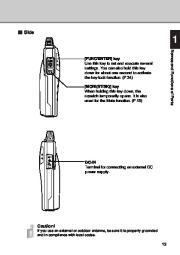 Alinco DJ-X3 T E VHF UHF FM Radio Instruction Owners Manual page 13