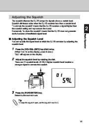 Alinco DJ-X3 T E VHF UHF FM Radio Instruction Owners Manual page 17