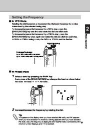 Alinco DJ-X3 T E VHF UHF FM Radio Instruction Owners Manual page 21