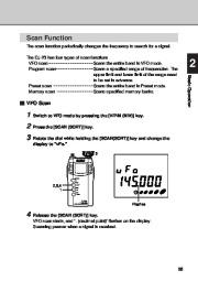 Alinco DJ-X3 T E VHF UHF FM Radio Instruction Owners Manual page 25