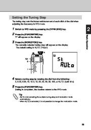 Alinco DJ-X3 T E VHF UHF FM Radio Instruction Owners Manual page 29