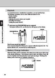 Alinco DJ-X3 T E VHF UHF FM Radio Instruction Owners Manual page 34