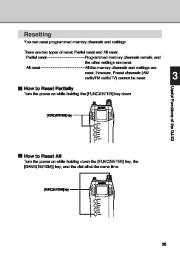 Alinco DJ-X3 T E VHF UHF FM Radio Instruction Owners Manual page 35