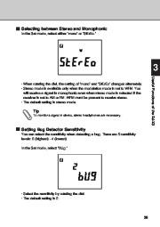 Alinco DJ-X3 T E VHF UHF FM Radio Instruction Owners Manual page 39