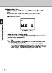Alinco DJ-X3 T E VHF UHF FM Radio Instruction Owners Manual page 40