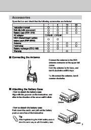 Alinco DJ-X3 T E VHF UHF FM Radio Instruction Owners Manual page 7