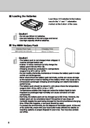 Alinco DJ-X3 T E VHF UHF FM Radio Instruction Owners Manual page 8