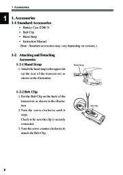 Alinco DJ-S40 VHF UHF FM Radio Instruction Owners Manual page 6
