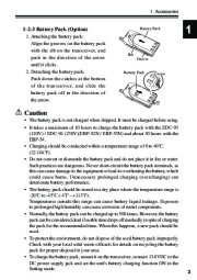 Alinco DJ-S40 VHF UHF FM Radio Instruction Owners Manual page 7