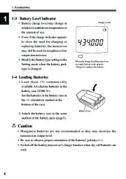 Alinco DJ-S40 VHF UHF FM Radio Instruction Owners Manual page 8