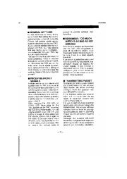 Alinco DR-1200T VHF UHF FM Radio Instruction Owners Manual page 18