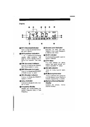 Alinco DR-1200T VHF UHF FM Radio Instruction Owners Manual page 6