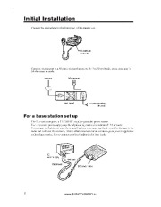 Alinco DR-635 VHF UHF FM Radio Instruction Owners Manual page 8