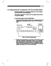 Alinco DR-135 FM Radio Instruction Owners Manual page 6