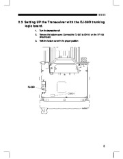 Alinco DR-135 FM Radio Instruction Owners Manual page 7