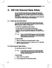Alinco DR-135 FM Radio Instruction Owners Manual page 8