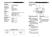 Alinco DJ-162 TD VHF UHF FM Radio Instruction Owners Manual page 3