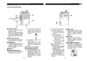 Alinco DJ-162 TD VHF UHF FM Radio Instruction Owners Manual page 4