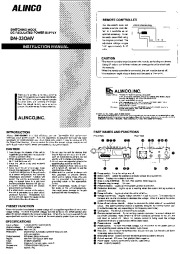 Alinco DM-330MVT Z VHF UHF FM Radio Owners Manual page 1