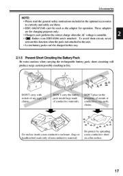 Alinco DJ-V17T E R TFH Radio Instruction Owners Manual page 17