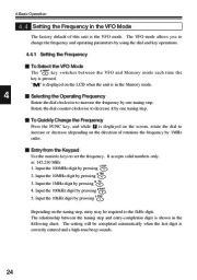 Alinco DJ-V17T E R TFH Radio Instruction Owners Manual page 24