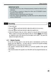 Alinco DJ-V17T E R TFH Radio Instruction Owners Manual page 29