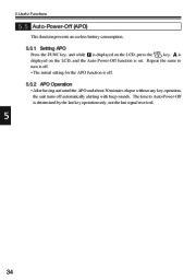 Alinco DJ-V17T E R TFH Radio Instruction Owners Manual page 34