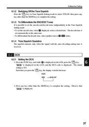 Alinco DJ-V17T E R TFH Radio Instruction Owners Manual page 37