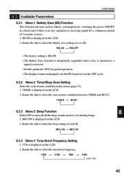 Alinco DJ-V17T E R TFH Radio Instruction Owners Manual page 45