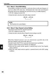 Alinco DJ-V17T E R TFH Radio Instruction Owners Manual page 46