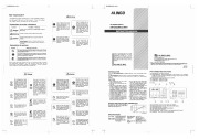 Alinco DM 340MVT Z VHF UHF FM Radio Instruction Owners Manual page 1