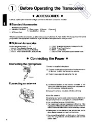 Alinco DR-610T DR-610E VHF UHF FM Radio Instruction Owners Manual page 6