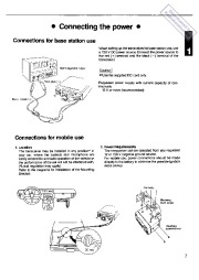 Alinco DR-610T DR-610E VHF UHF FM Radio Instruction Owners Manual page 7