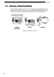 Alinco DR-MA1 VHF UHF FM Radio Instruction Owners Manual page 8