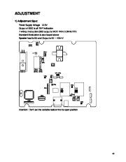 Alinco DR-620 VHF UHF FM Radio Instruction Service Manual page 43