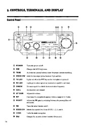 Alinco DX-701 VHF UHF FM Radio Instruction Owners Manual page 14