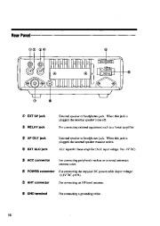 Alinco DX-701 VHF UHF FM Radio Instruction Owners Manual page 16
