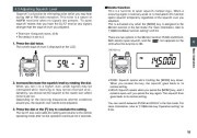 Alinco DJ-X7 TE FM Radio Instruction Owners Manual page 15