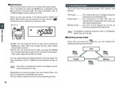 Alinco DJ-X7 TE FM Radio Instruction Owners Manual page 16