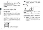 Alinco DJ-X7 TE FM Radio Instruction Owners Manual page 18