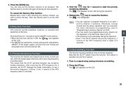 Alinco DJ-X7 TE FM Radio Instruction Owners Manual page 25