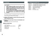 Alinco DJ-X7 TE FM Radio Instruction Owners Manual page 38