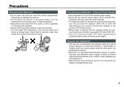 Alinco DJ-X7 TE FM Radio Instruction Owners Manual page 5