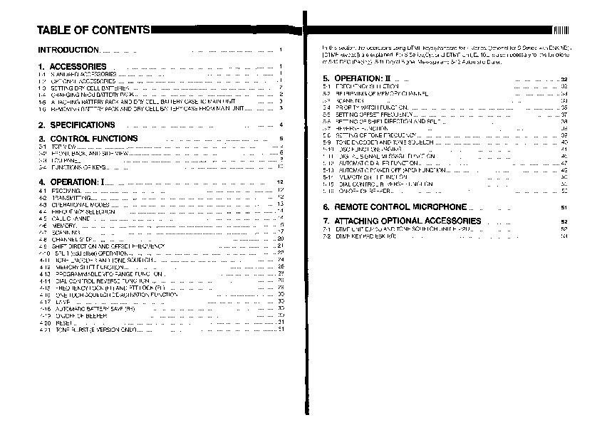 alinco dj f1 s1 dj f4 s4 t e h vhf uhf fm radio owners manual rh filemanual com Alinco 1980 Hand Talky Alinco DJ G5